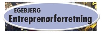 Egebjerg entreprenørforretning logo